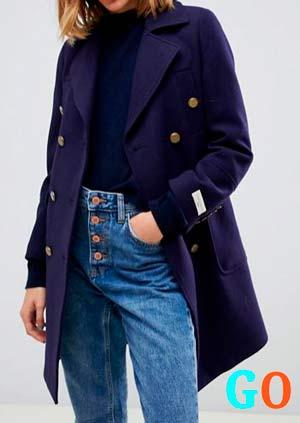 abrigo marinero barato