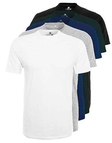 camisetas basicas hombre