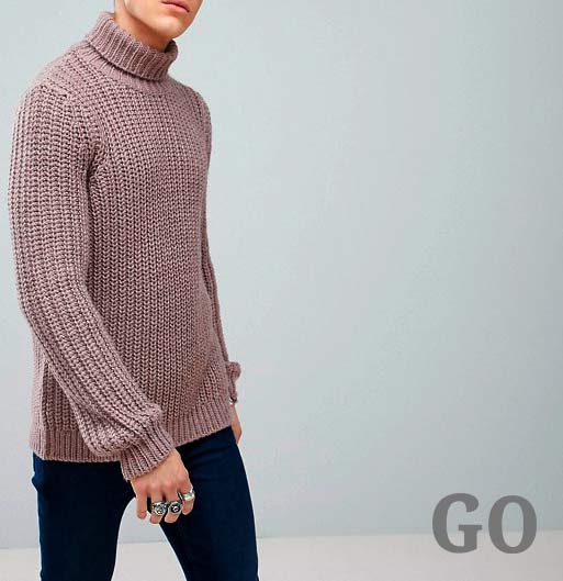 jerseys gruesos baratos hombre