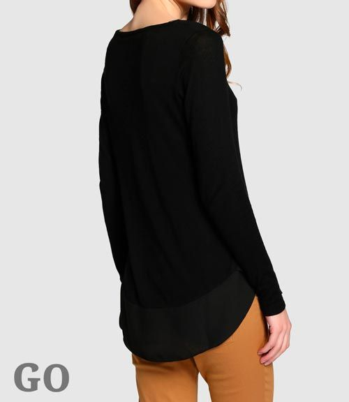 jerseys largos mujer