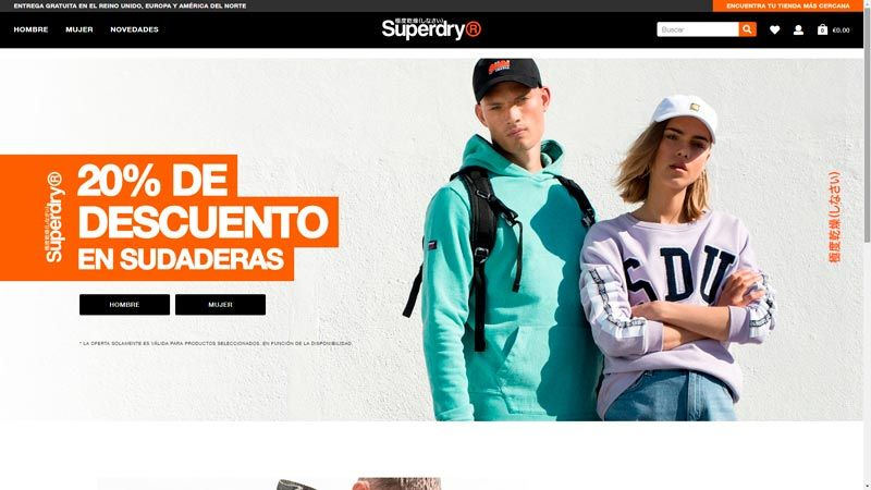 ropa superdry
